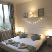 Chambre d'hôte à Carcassonne avec vue sur la Cité