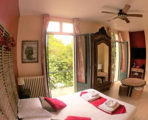 Spacious and family bed and breakfast in Carcassonne: Griotte