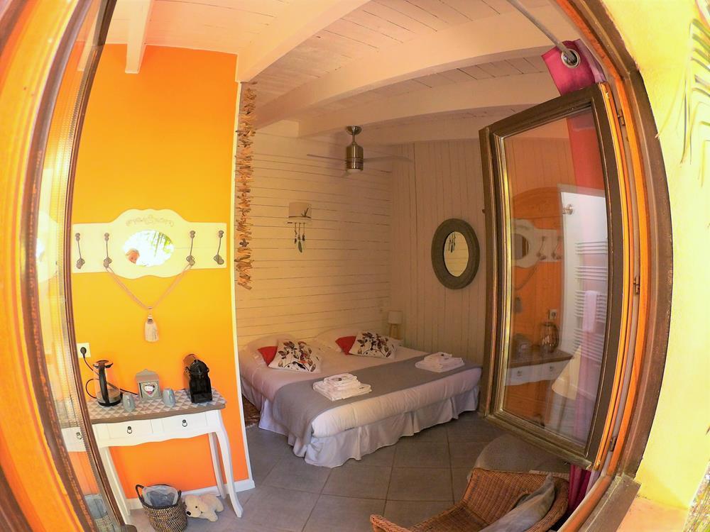 Chambre d'hôtes à Carcassonne : la chambre Nougat