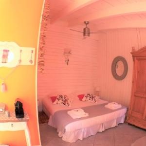 Chambre d'hôtes à Carcassonne la chambre Nougat