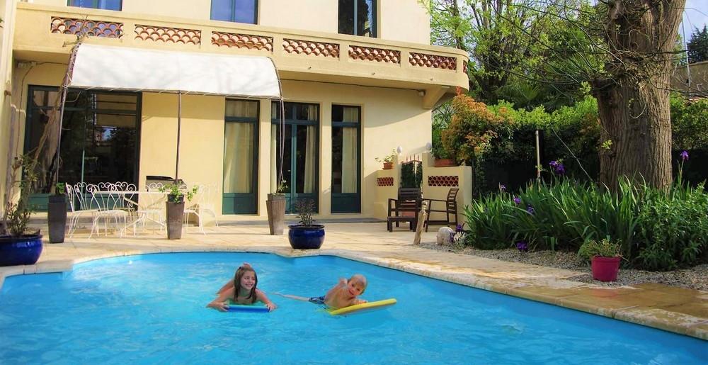 Chambre d'hôtes à Carcassonne avec piscine